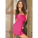 MINI ABITO FUCSIA AFTER HOURS PARTY DRESS UNICA