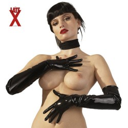 GUANTI NERI IN LATEX M