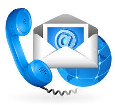 Contattaci tramite email o telefono